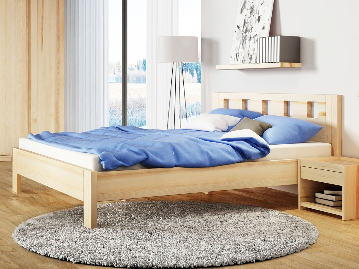 """Schlafzimmer mit Eschenbett """"Alma"""""""