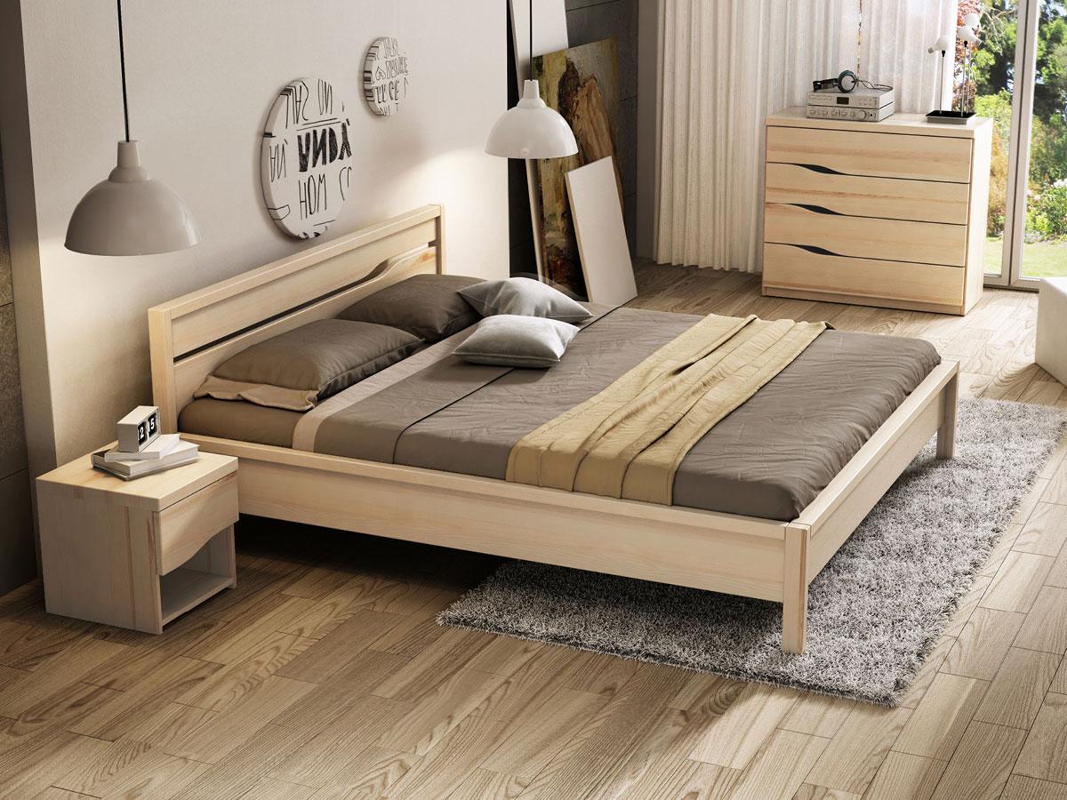 """Schlafzimmer mit Eschenbett """"Barbara"""""""