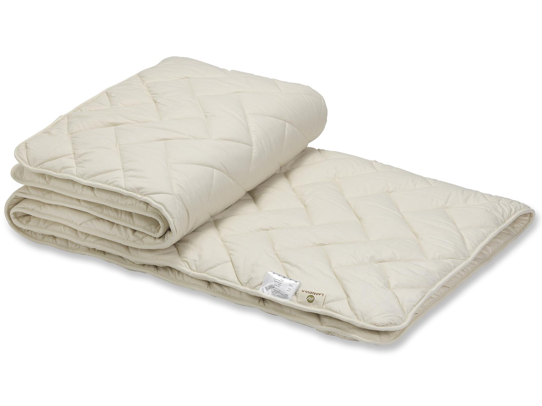 Die Duo-Decke besteht aus zwei leichten Decken, die miteinander versteppt werden.