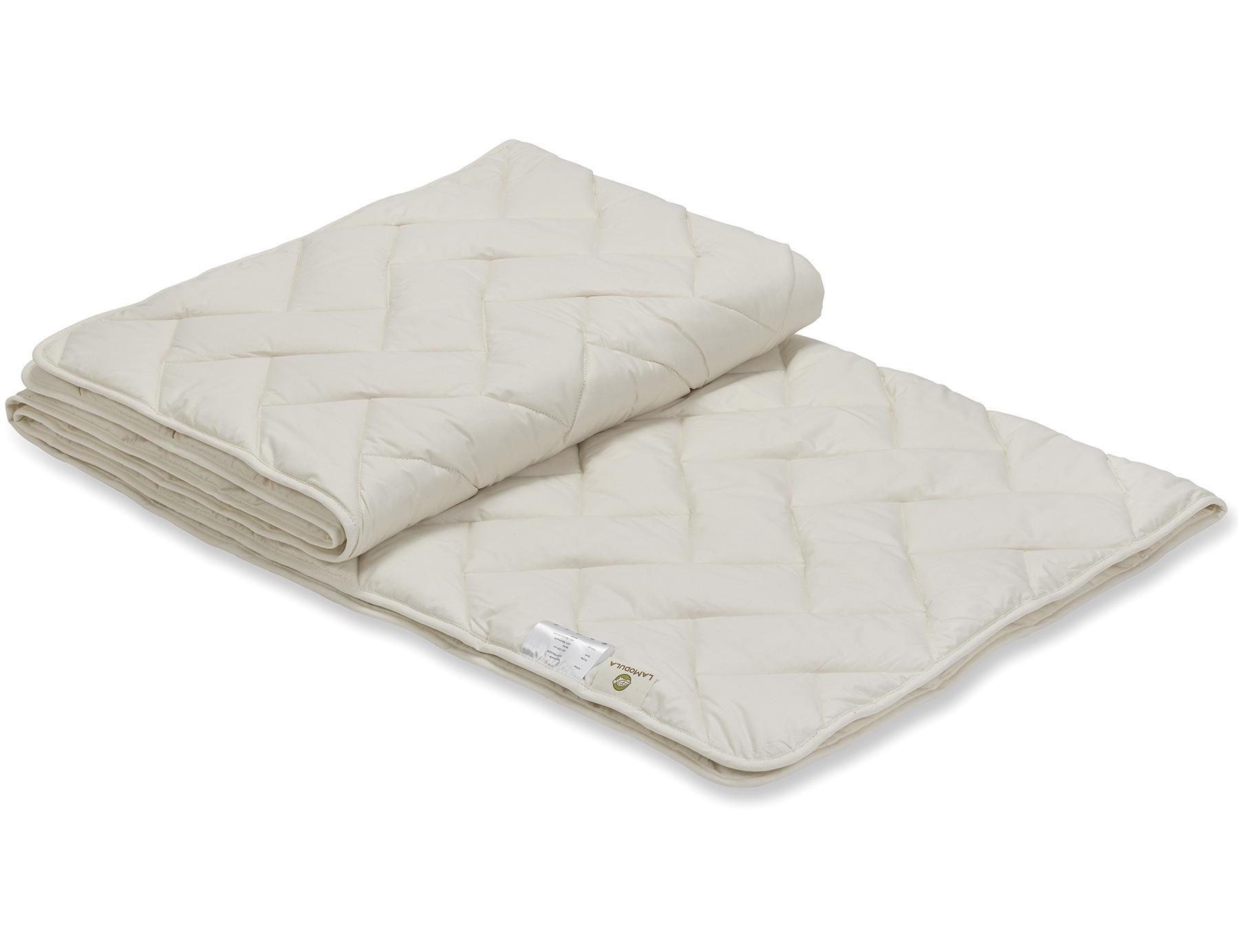 Baumwolle sorgt für ein ausgeglichenes Schlafklima.