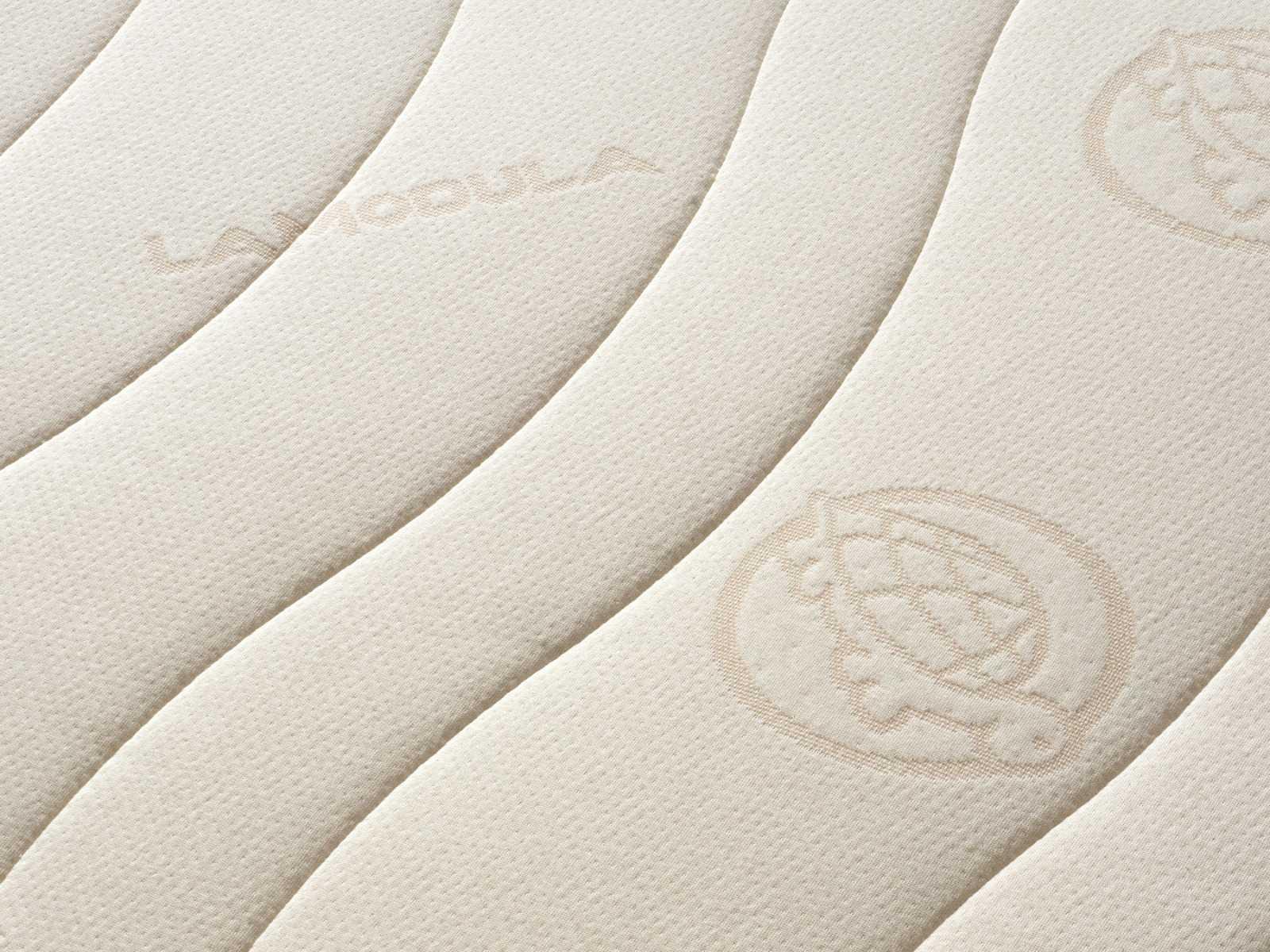 Sorgfältig verarbeiteter Baumwolle (kbA) Doppeltuch Bezug