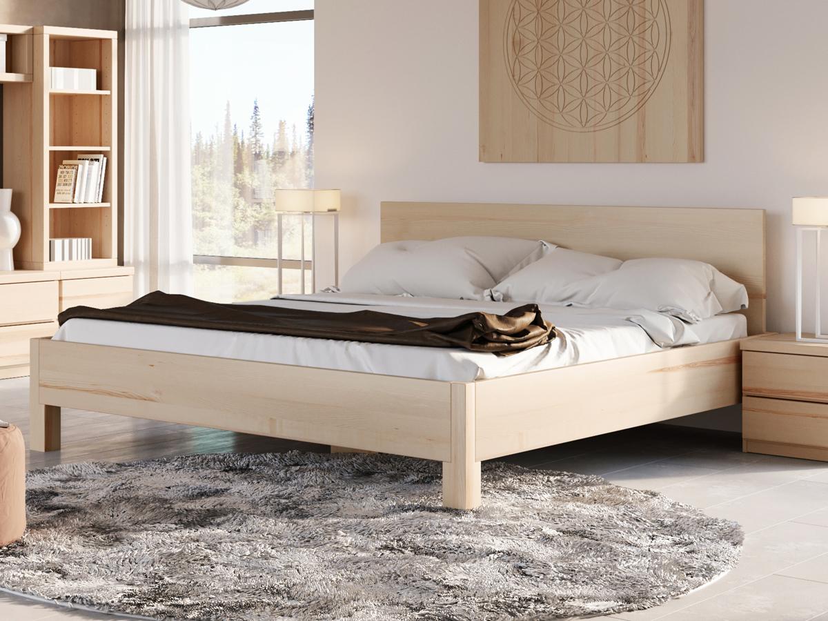 """Schlafzimmer mit Eschenbett """"Daniel"""" 180 x 200 cm"""
