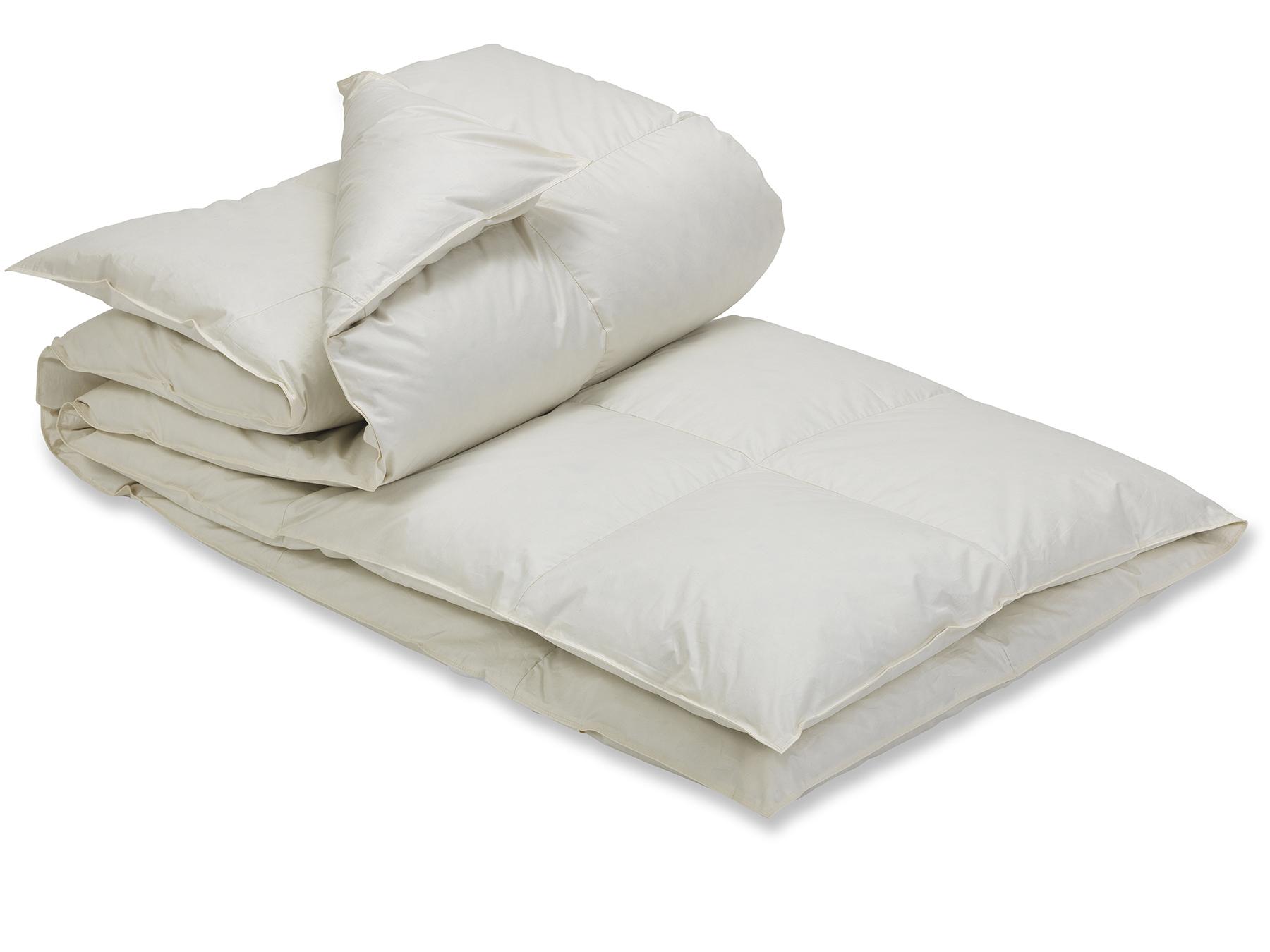 Schlafen mit gutem Gewissen: Unsere Gänse behalten bei Lebzeiten ihr Federkleid.