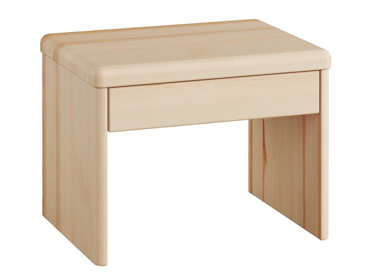 """Nachttisch aus Esche """"Doris"""" in Standardhöhe mit Schublade"""