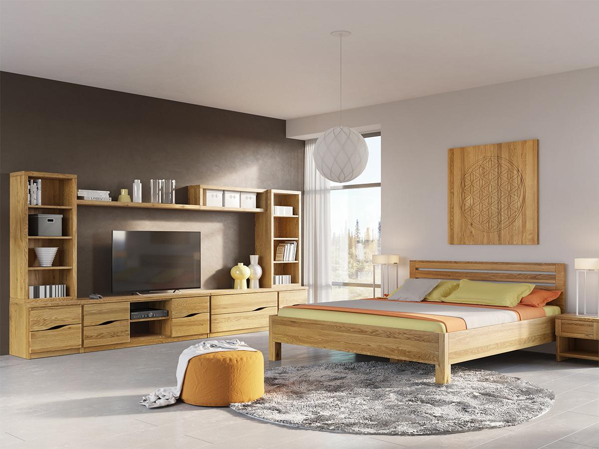 """Eichenwohnzimmer mit Sideboard """"Astrid"""""""