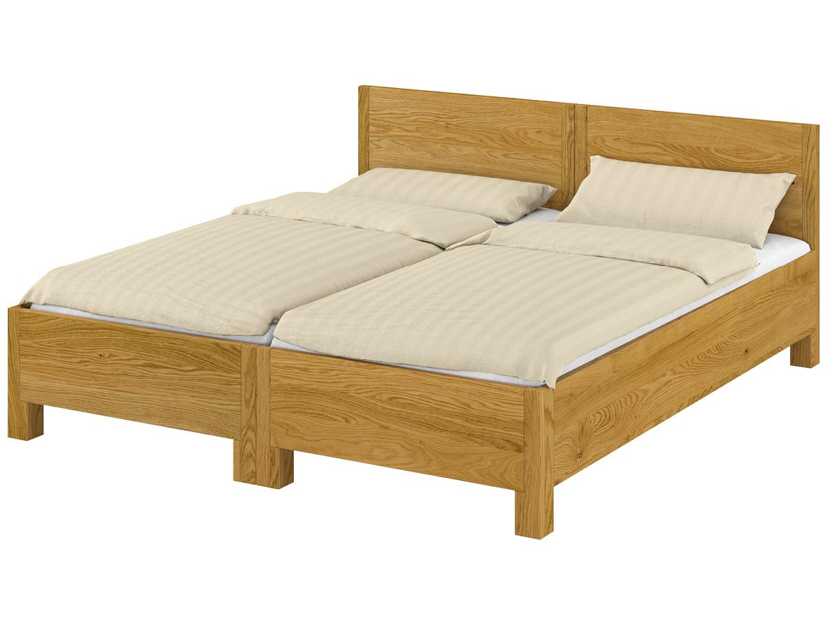 """""""Josef"""" als Doppelbett: Man kann die Betten ganz einfach trennen und auch als Einzelbetten benutzen."""