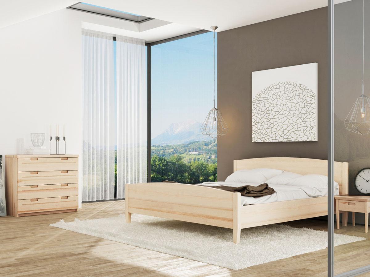 """Schlafzimmer mit Eschenbett """"Felix"""""""