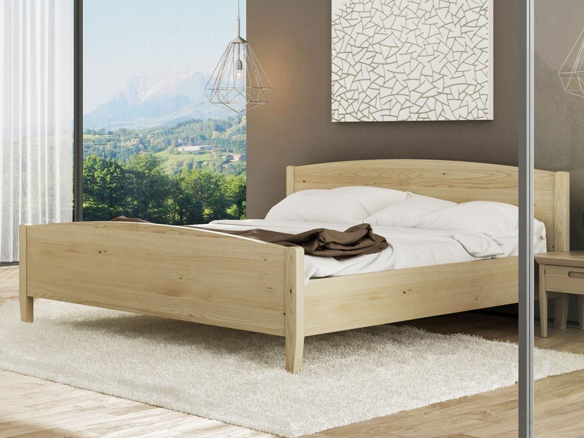 """Schlafzimmer mit Kastanienbett """"Felix"""""""