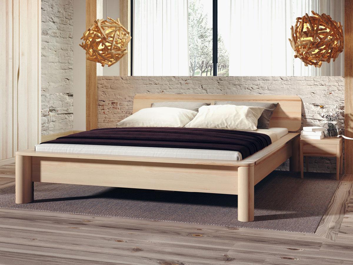 """Schlafzimmer mit Bett aus Esche """"Gerda"""""""