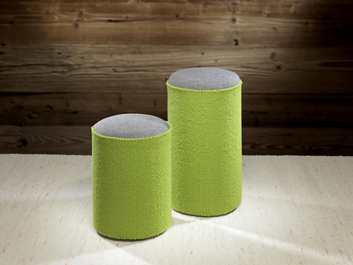 Sitzhocker Apfelgrün