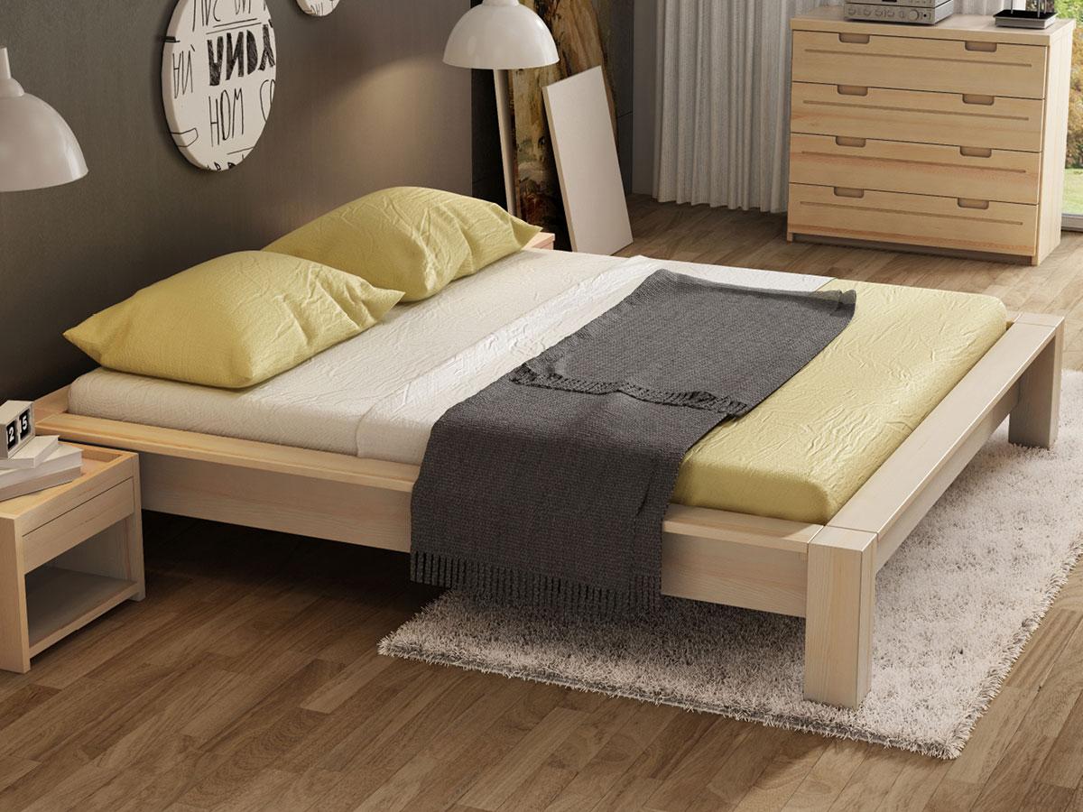 """Schlafzimmer mit Eschenbett """"Ina"""""""