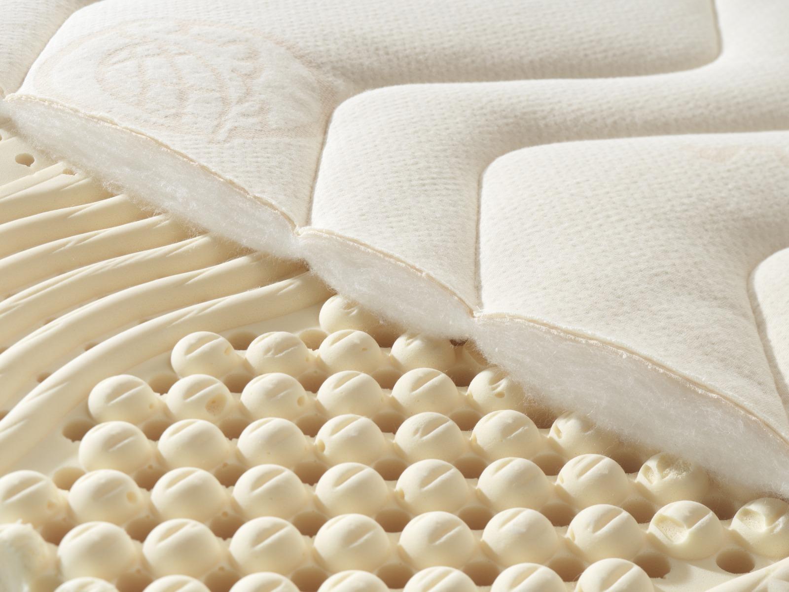 Detail des Bezuges aus TENCEL™ Faser/Mais