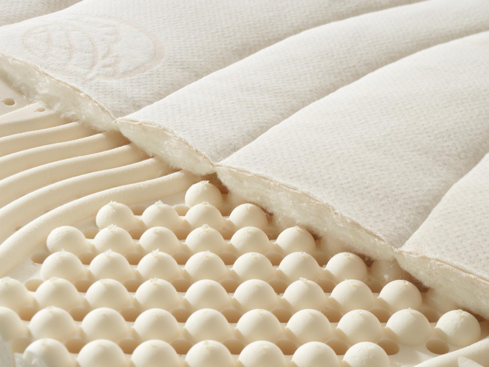 Detail des Bezuges aus Baumwolle
