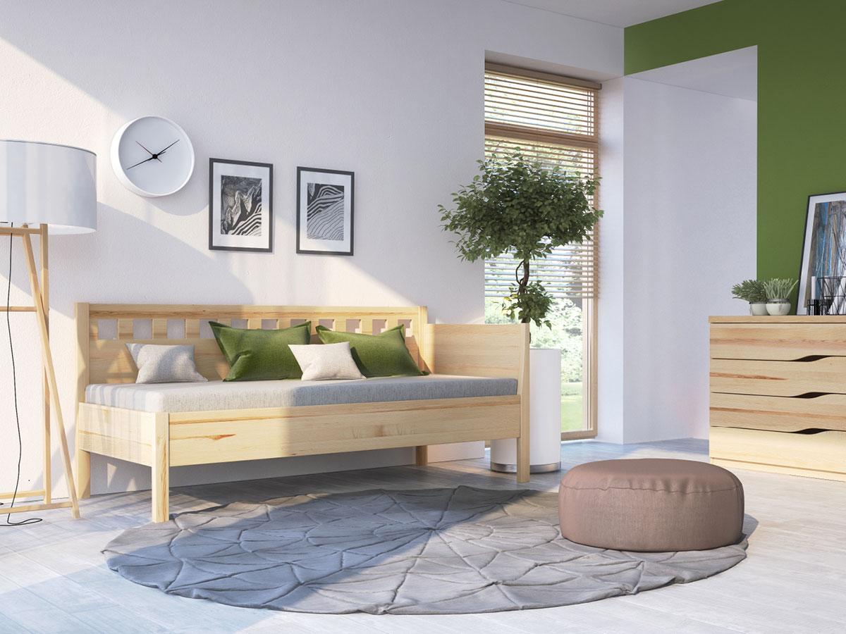 """Zimmer mit Eschensofa """"Katrin"""" 90 x 200 cm"""