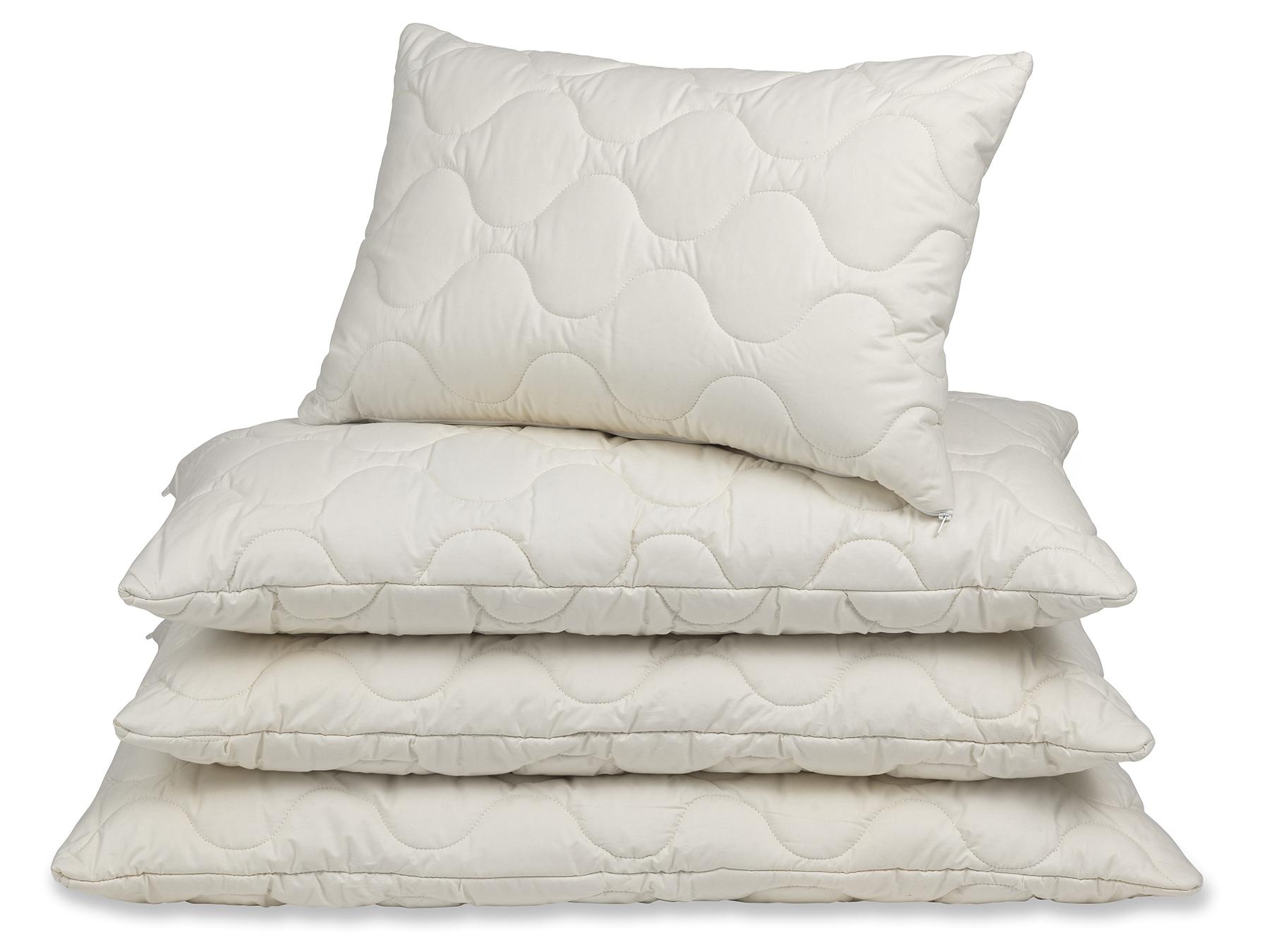 Mais-Vlies und TENCEL™ Fasern sorgen für ein angenehm ausgeglichenes Schlafklima.