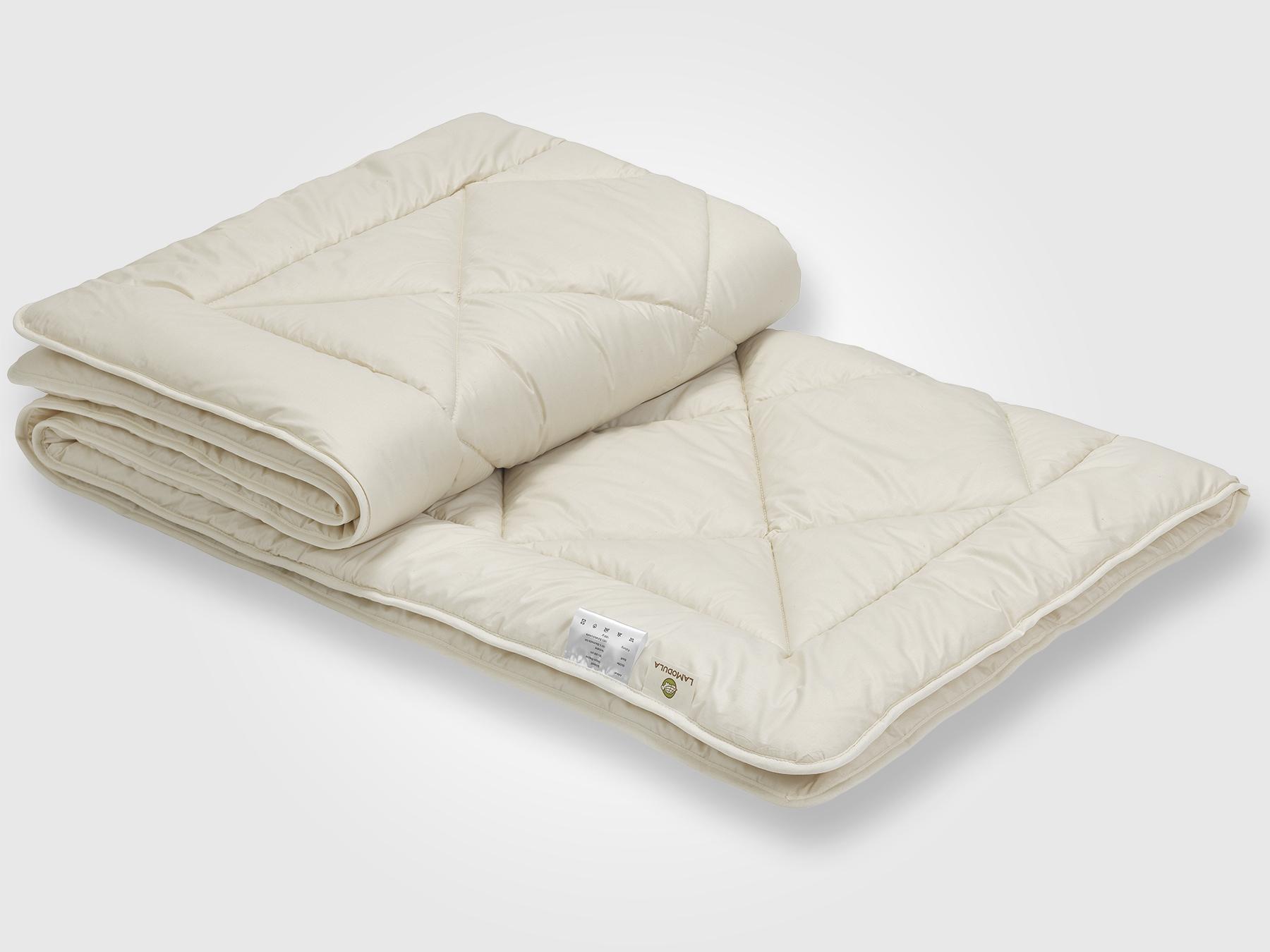 Schurwolle sorgt für ein trockenes, warmes Schlafklima.