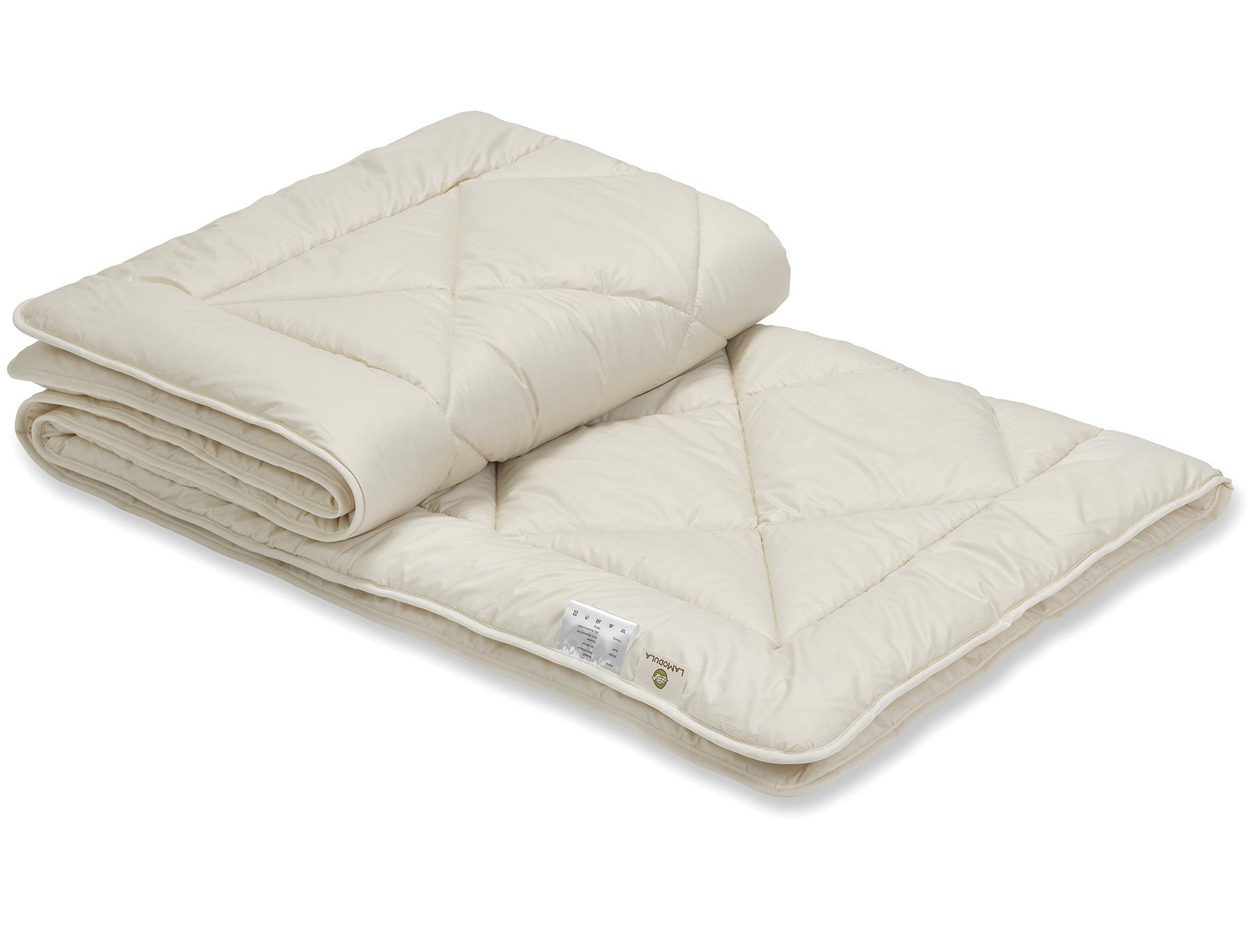 Bettdecke Schurwolle