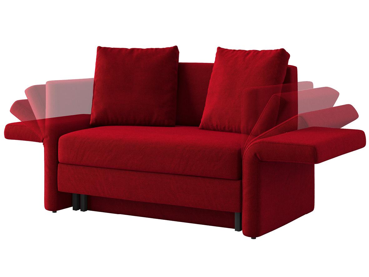 """Sofa """"Clarissa"""" begeistert mit klappbaren Armlehnen."""
