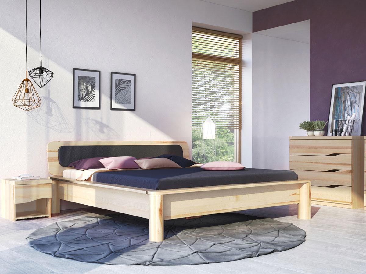 """Schlafzimmer mit Eschenbett """"Tamara"""""""