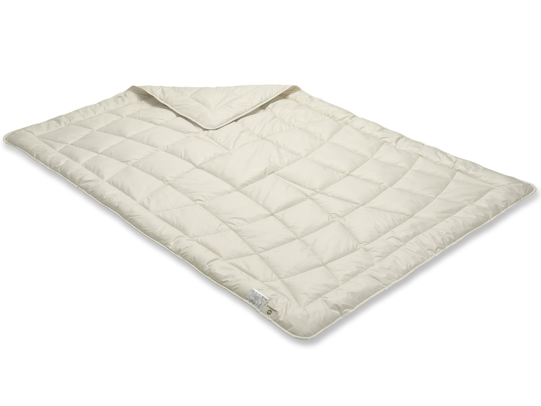 Unsere TENCEL™ Faser Bettdecke wird mit Einnadel-Technik hergestellt.