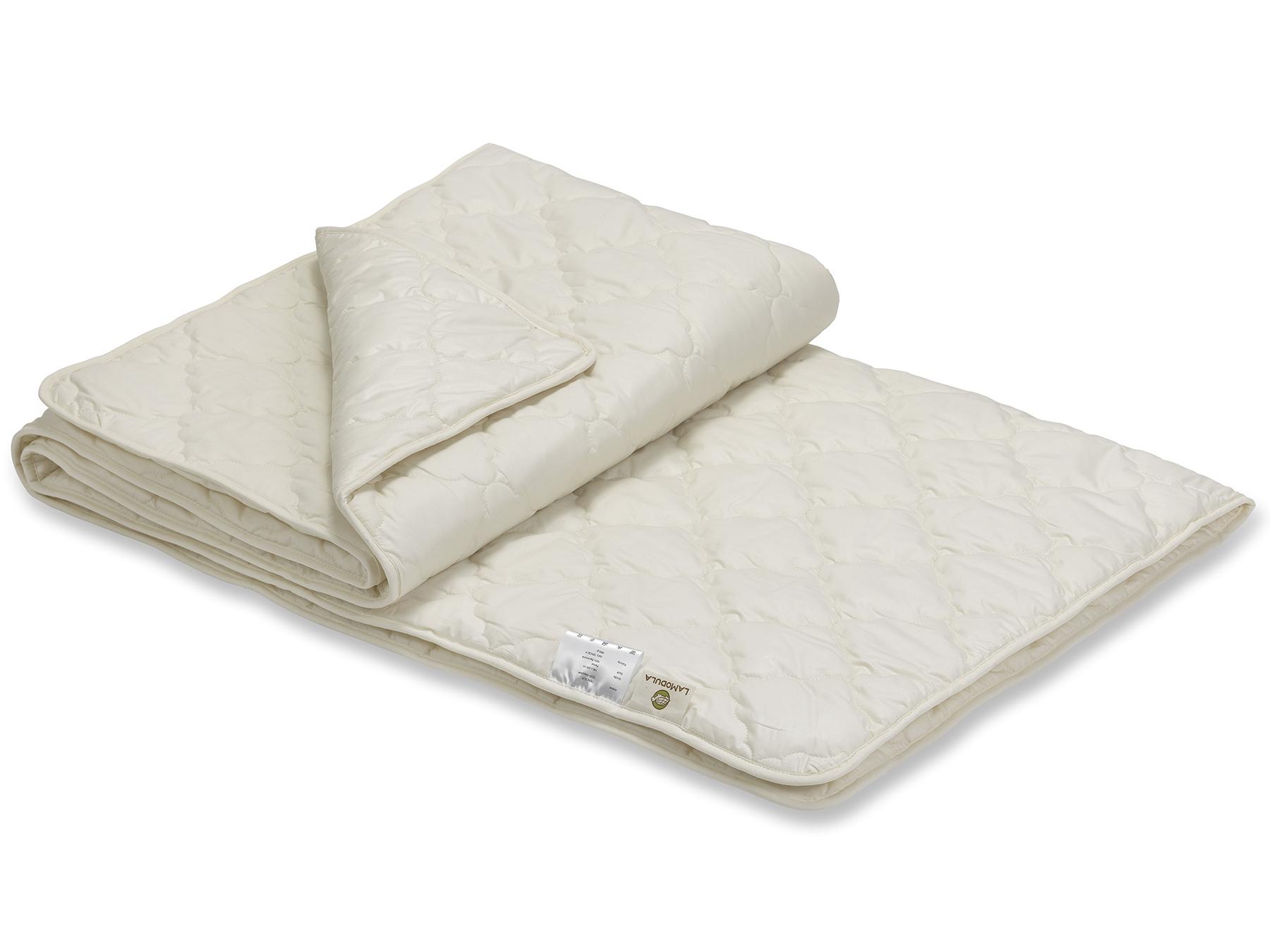 Die Duo-Decke besteht aus zwei miteinander versteppten leichten Decken.