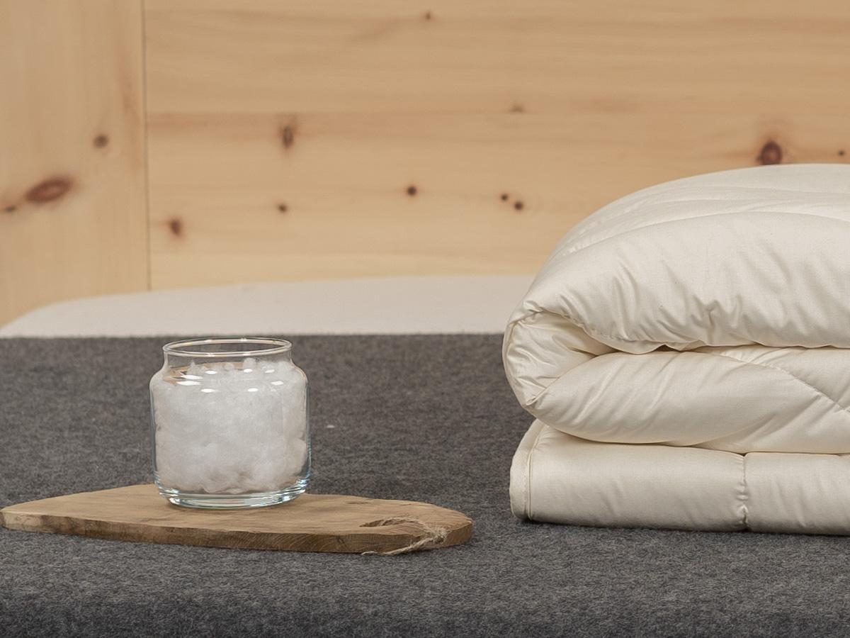 TENCEL™ Faser/Mais schafft konstant ein ausgeglichenes Schlafklima.