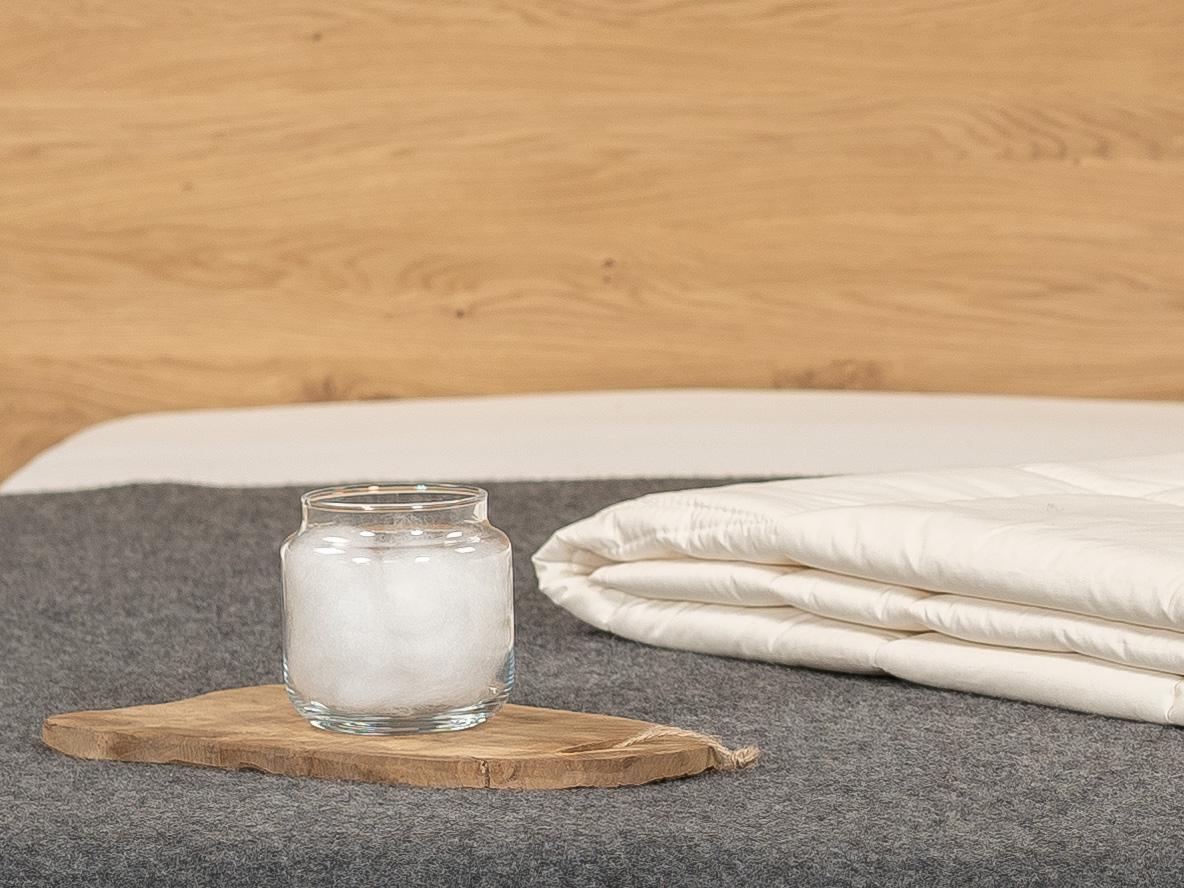 TENCEL™ Faser: besonders hygienisch und für Allergiker geeignet.