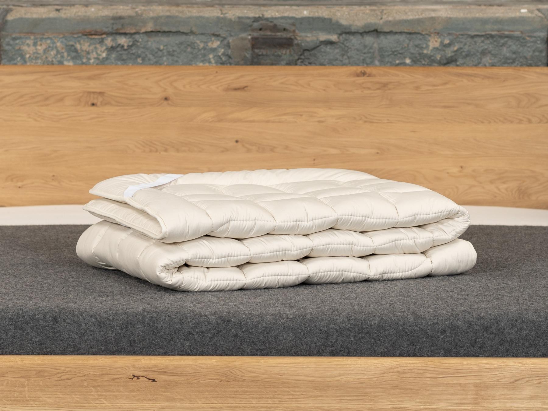Unser Matratzenschoner TENCEL™ Faser Plus ist flauschig leicht und kühlend.