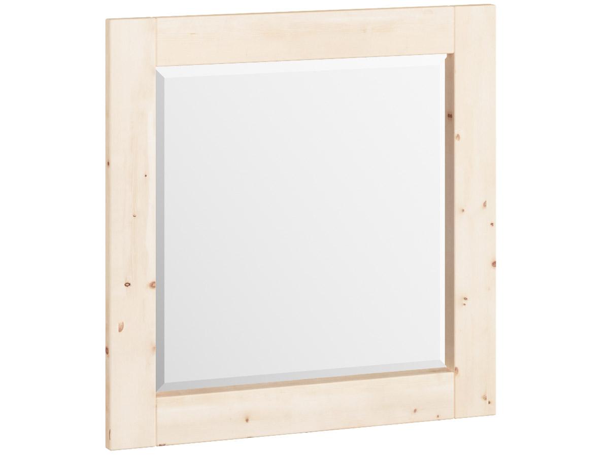 "Zirbenwandspiegel ""Sabrina"" 70 x 70 cm"