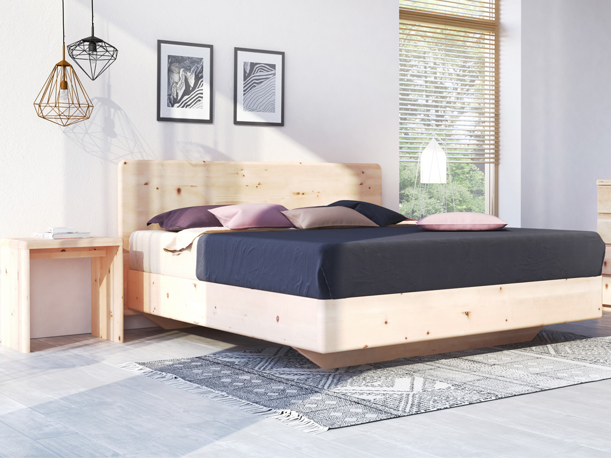 "Zirbenzimmer mit Bett ""Valentina"" Boxspring"