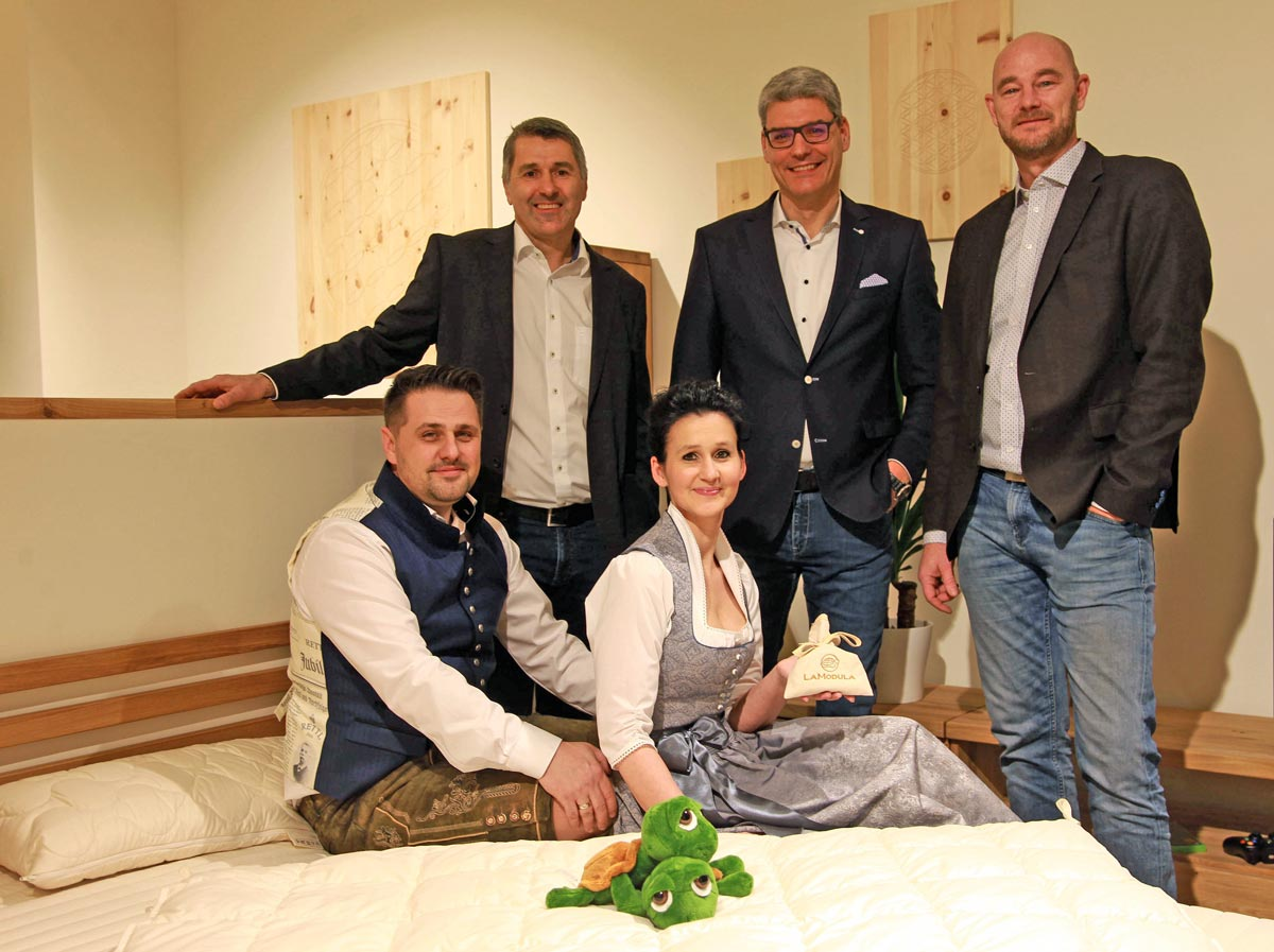 Feber 2018: LaModula Eröffnungsfeier in Wien
