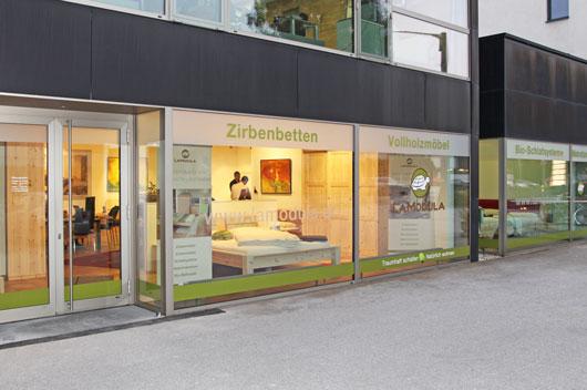 Oktober 2016: Salzburg: LaModula Wohn- und Schlafstudio eröffnet