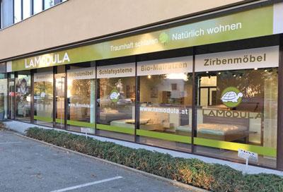 November 2017:  LaModula Wohn- und Schlafstudio eröffnet in Dornbirn