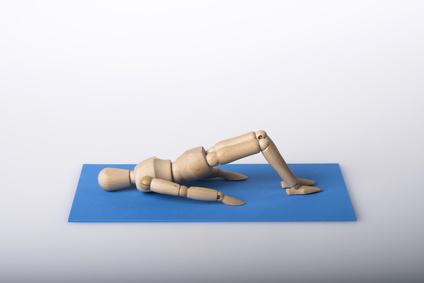 Rückenübungen und Bauchübungen