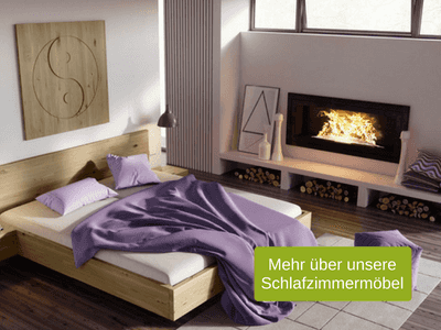 Feng Shui im Schlafzimmer: Bett-Ausrichtung, Farben & Co. | LaModula