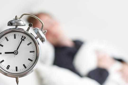 Wie lange schlafen?