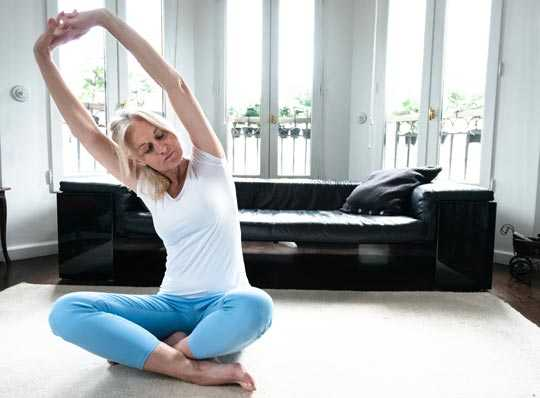 Yoga zur Entspannung und gegen Rückenschmerzen
