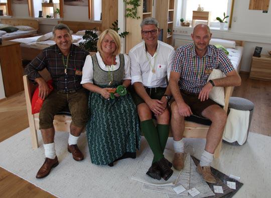 LaModula Geschäftsführung mit Villachs Vizebürgermeisterin Mag. Gerda Sandriesser