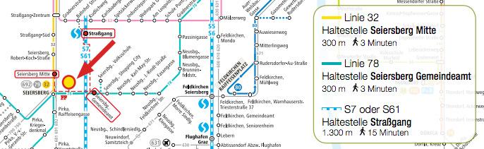 Verkehrsplan LaModula Seiersberg