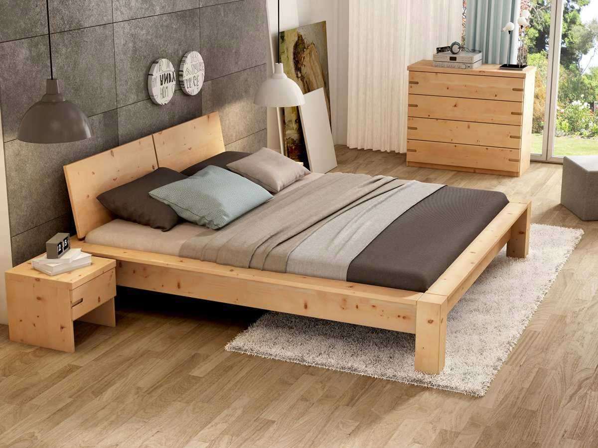 Schlafzimmer Zirbe von LaModula