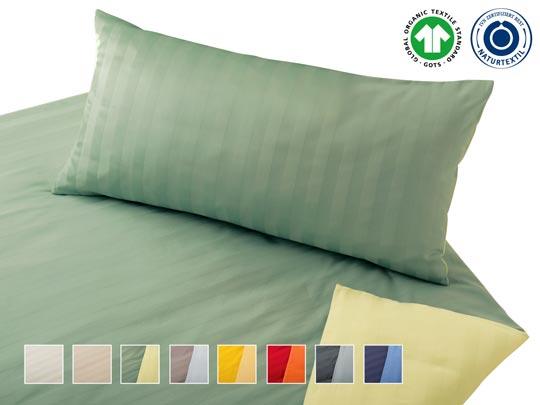 Biancheria da letto in satin/cotone Livia