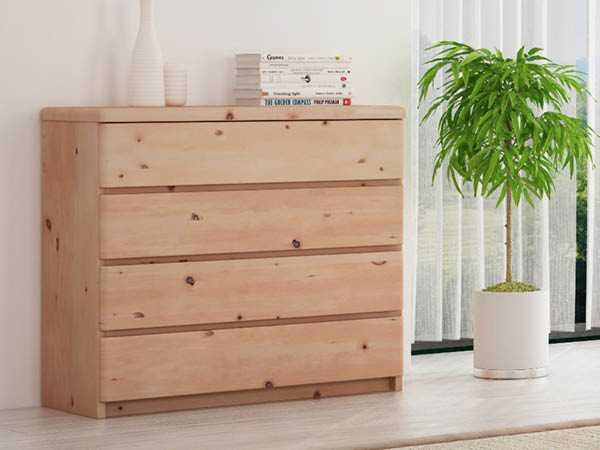 Zirbenm bel aus sterreichischem zirbenholz lamodula for Sideboard zirbenholz